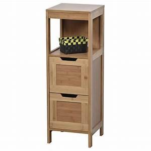 Meuble Salle De Bain Bas : meuble bas de salle de bain mah meuble bas eminza ~ Teatrodelosmanantiales.com Idées de Décoration