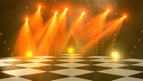 virtual dance floor disco lights stock footage video