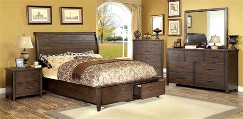 storage bedroom sets ribeira walnut storage bedroom set cm7252q