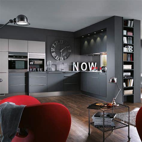 cuisine ouverte grise cuisine grise cuisine en image