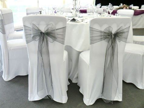 habillage chaise mariage 17 best ideas about wedding chair sashes on