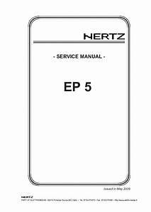 Hertz Ep1d Service Manual Download  Schematics  Eeprom