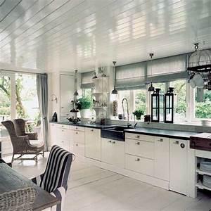 Painting the floor white sheila zeller interiors for White kitchen floor