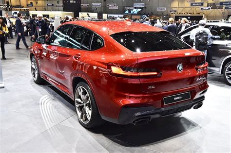 Update Motor Show 2018 : 2018 Bmw X4 M40d Rear Three Quarters At 2018 Geneva Motor Show