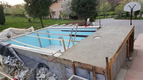Homemade Pool-how To Build A Pool In Months-youtube