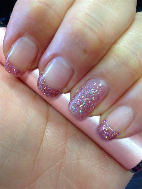 bling   fingerpaint gel nails