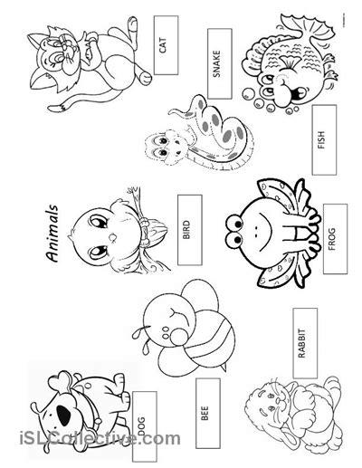 images  pet animal worksheets preschool pets