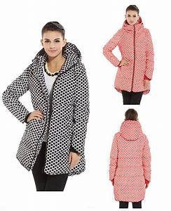2015 New Fashion warm Winter Jacket women Thick Polka Dot ...