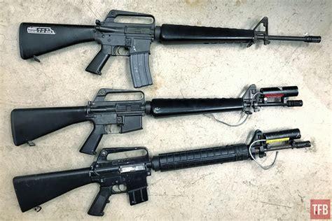 M.A.C.S Rifles - SNES Laser M16s -The Firearm Blog