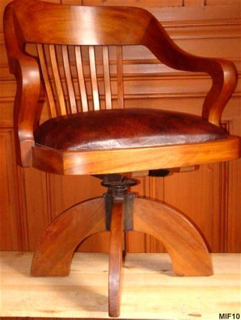 fauteuil de bureau americain fauteuil de bureau de type quot américain quot vers 1920