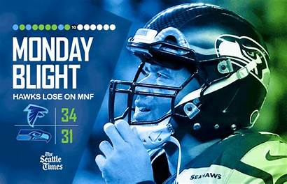 Seahawks Seattle Hanging Falcons Monday Seattletimes Sports