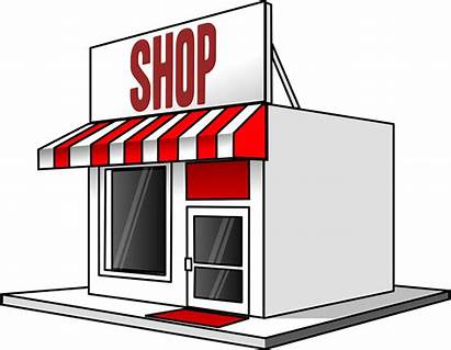 Shopping Building Vector Graphic Pixabay Awning Business