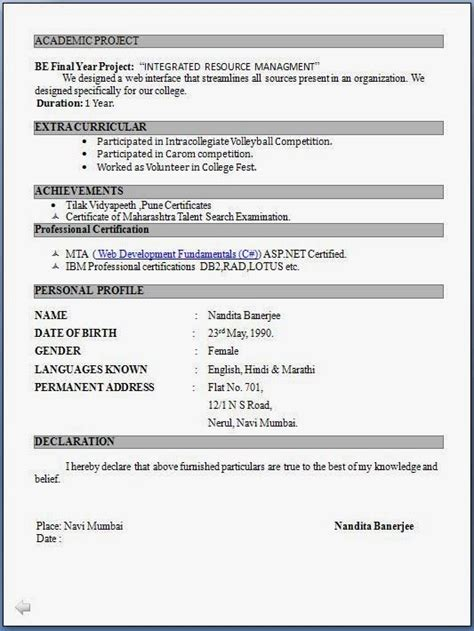 Resume Format For Post by Best 25 Resume Format Ideas On Resume Resume