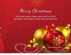 Merry Christmas Quotes on Card | Merry Christmas ...
