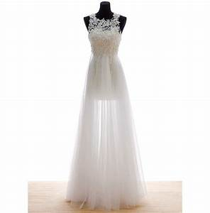 Elegant slim wedding dresses with pearls 2015 beaded lace for Formal short dresses for weddings