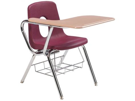 tablet arm chair desk woodstone top 18 quot h student chair