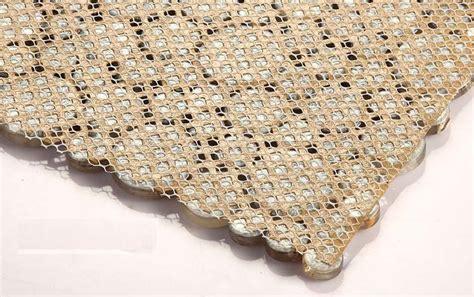 kitchen backsplash tiles pictures glass mosaic resin conch tiles backsplash 5078