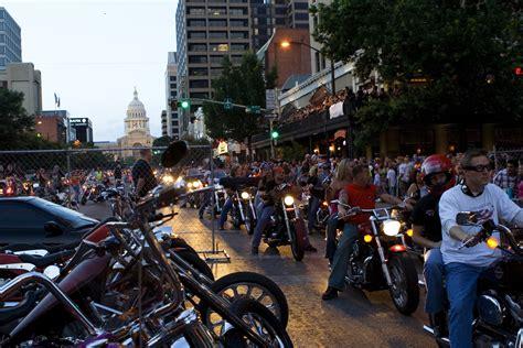 Republic of Texas Biker Rally 2012 Rolls Into Austin