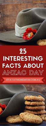 25 interesting facts about anzac day stay at home