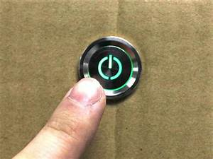 Buy Ip 68 Waterproof 12 Volt Led Push Button Switch