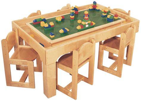 deluxe preschool table playcenter for 6 48 w x 30 d 562 | SK2512 LEGOfor6