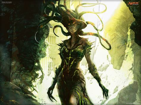 Vraska The Unseen Deck Modern by Wallpaper Of The Week Vraska The Unseen Magic The
