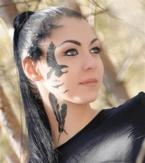 top   face tattoos         statement