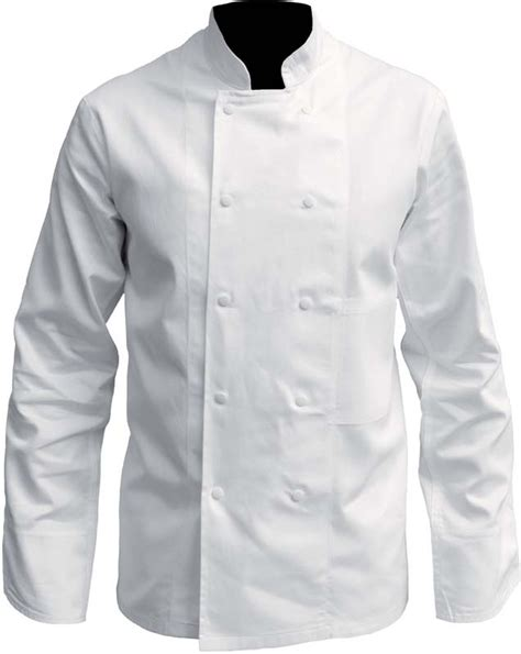 veste de cuisine professionnel veste de cuisine coton blanc pressions vetements de