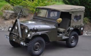 Jeep Light Covers by 1953 Willys Military Army M38a1 Jeep For Sale Photos