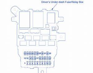 Acura Tl Type S 2008 Fuse Box  Block Circuit Breaker Diagram  U00bb Carfusebox