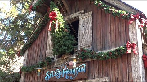 critter country christmas decorations  disneyland
