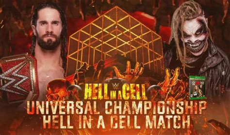 wwe hell   cell  match card preview