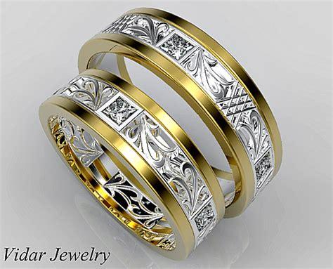 unique matching wedding ring vidar jewelry