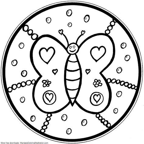 mandala coloring pages  kids parenting times