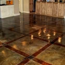 Acid Washed Concrete Floors