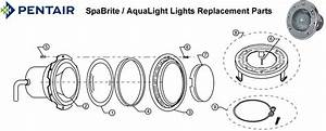Spabrite    Aqualight Lights Replacement Parts