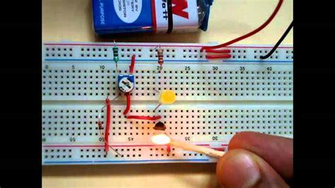 Simple Temperature Sensor Circuit Youtube