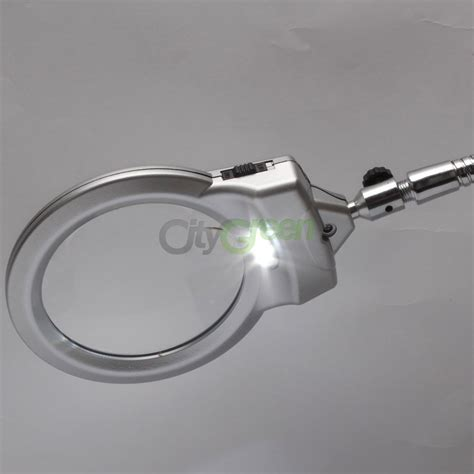 table top magnifying glass new lighted table top desk magnifier magnifying glass with