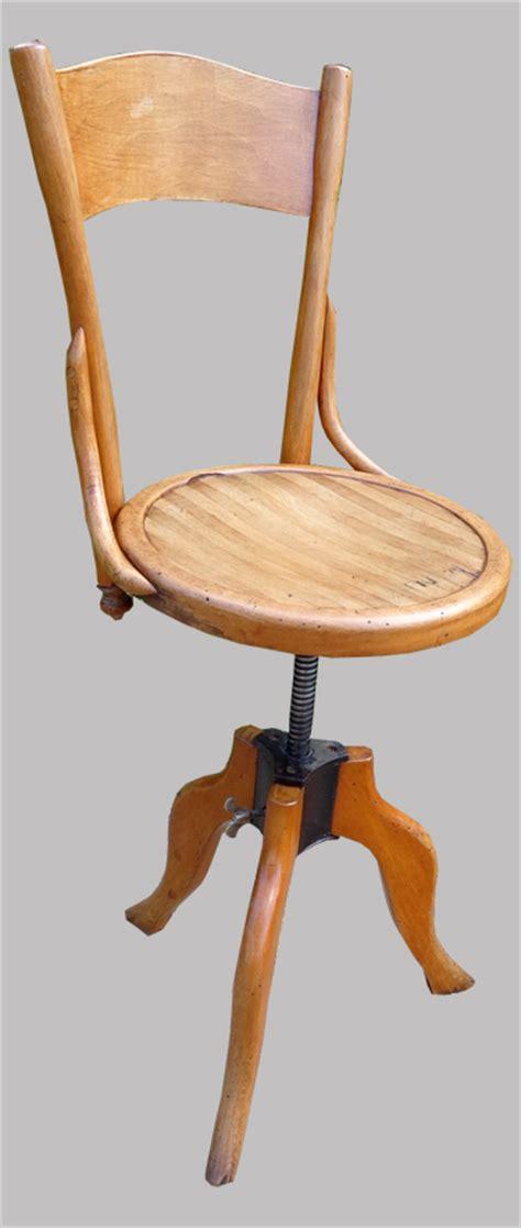 Chaise D'architecte Ancienne Réglable En Hauteur