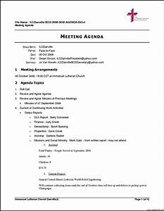 free business meeting agenda template template update234 With agendas for meetings templates free