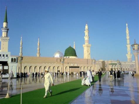 madina green greening hajj and madina for the muslim world green prophet