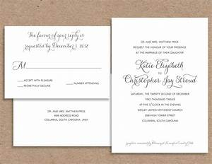 formal wedding invitation wording theruntimecom With ways to word wedding invitations and rsvp cards