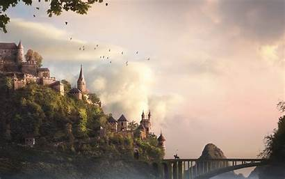 Castle Fantasy Wallpapers Background Widescreen Castles 2560