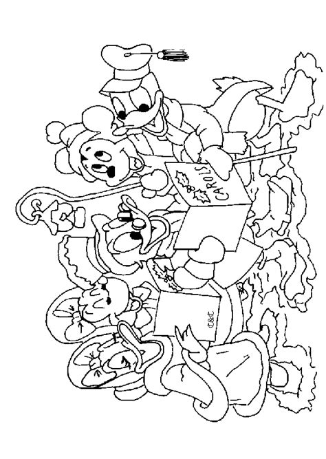 Kleurplaat Kerstboom Met Mickey Mouse by N 49 Coloring Pages Of Mickey Mouse