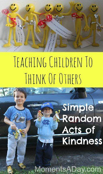 Simple Random Acts of Kindness for Kids