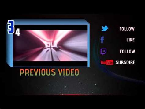 top 10 template vegas countdown how to make an outro in sony vegas pro 11 12 and 13 doovi