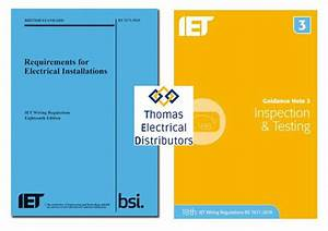 18th Edition Wiring Regulations   Iet Guidance Note 3