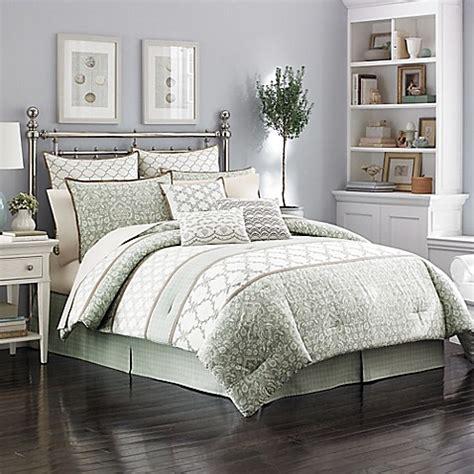 Laura Ashley® Raeland Comforter Set  Bed Bath & Beyond