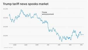 Stock Market Drops After Trump Announces Tariffs Mar 1