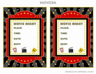 Night Party Printable Invitation Template Printables Invitations